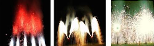 Bodenfeuerwerk