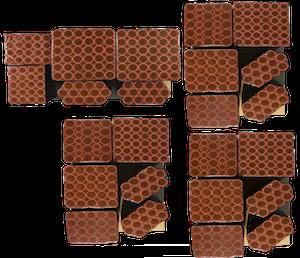 Verbundfeuerwerk mit 4 Pakete