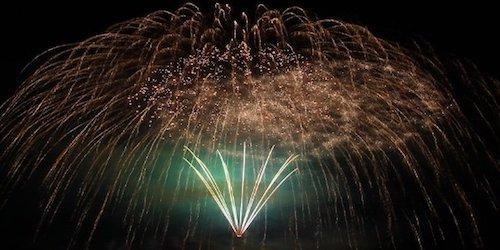 Höhenfeuerwerk und Großfeuerwerk für Stadtfeste, Dorffeste, Bürgerfeste und Volksfeste